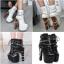 รองเท้าบูท ไซต์ 34-40 สีขาว/ดำ thumbnail 1