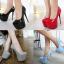 รองเท้าส้นสูงหนังแก้วสีแดง/ดำ/เทา/ฟ้า ไซต์ 34-40 thumbnail 1