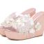 รองเท้าส้นเตารีดส้นติดกากเพชรแน่นๆสีเงิน/ทอง/ขาว/ชมพู ไซต์ 34-39 thumbnail 13