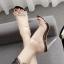 รองเท้าส้นสูงแบบหรูสีดำ/ขาว ไซต์ 35-40 thumbnail 3