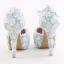 รองเท้าเจ้าสาว ไซต์ 34-39 สีฟ้า สูง 3.6 / 4.8 / 5.6 นิ้ว thumbnail 7