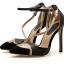 รองเท้าส้นสูงปลายแหลมสีขาว/ดำ ไซต์ 35-40 thumbnail 9