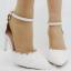 รองเท้าเจ้าสาวสีขาวมุข ไซต์ 34-41 thumbnail 2