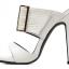 รองเท้าส้นสูงแบบสวมสีดำ/ขาว ไซต์ 35-40 thumbnail 9