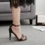 รองเท้าส้นสูงแบบเรียบแต่สวยหรูสีดำ ไซต์ 35-40 thumbnail 2