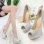 รองเท้าส้นสูงสีเงิน/ทอง ไซต์ 35-40 thumbnail 3
