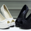 รองเท้าส้นสูง ไซต์ 34-39 สีดำ/ขาว thumbnail 9