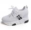 รองเท้าผ้าใบเสริมส้น ไซต์ 35-39 สีขาว/ดำ thumbnail 9
