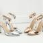 รองเท้าส้นสูงสีเงิน/ทอง ไซต์ 35-40 thumbnail 7