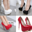 รองเท้าส้นสูง ไซต์ 34-40 สีแดง,ดำ,ขาว thumbnail 1