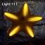 ไฟประดับ ไฟดาวใหญ่ สีเหลือง cl-024 thumbnail 4