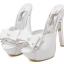 รองเท้าส้นสูงสีขาว/ดำ ไซต์ 34-39 thumbnail 7
