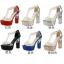 รองเท้าส้นสูง ไซต์ 34-39 สีดำ สีแดง สีเงิน สีทอง สีชมพูอ่อน สีน้ำเงิน thumbnail 1