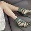 รองเท้าส้นสูงสีเขียว/ดำ ไซต์ 35-40 thumbnail 5