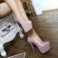 รองเท้าส้นสูง ไซต์ 34-40 สีดำ สีครีม สีแดง สีม่วงอ่อน thumbnail 9