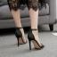 รองเท้าส้นสูงแบบเรียบแต่สวยหรูสีดำ ไซต์ 35-40 thumbnail 3