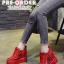 รองเท้าผ้าใบเสริมส้นสีแดง/ดำ/ขาว ไซต์ 34-39 thumbnail 13