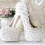 รองเท้าเจ้าสาว ไซต์ 34-39 ส้นสูง 8-14 ซม. thumbnail 4
