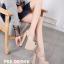 รองเท้าส้นสูง ไซต์ 34-40 สีดำ/ครีม thumbnail 10