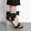 รองเท้าแฟชั่น ไซต์ 35-40 สีดำ/ทอง thumbnail 2