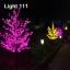 ไฟต้นไม้ (ซากุระ) LED 2 ม.1152 led สีเขียว thumbnail 4