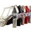 รองเท้าส้นสูง ไซต์ 34-39 สีดำ สีแดง สีเงิน สีทอง สีชมพูอ่อน สีน้ำเงิน thumbnail 14