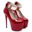 รองเท้าส้นสูง ไซต์ 34-38 สีดำ สีขาว สีแดง thumbnail 11