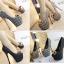 รองเท้าส้นสูงสีน้ำตาล/ดำ/เทา ไซต์ 34-38 thumbnail 1