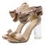 รองเท้าแฟชั่น ไซต์ 35-40 สีดำ/ทอง thumbnail 7
