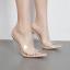 รองเท้าส้นสูงแบบสวมปลายแหลมพลาสติกใส ไซต์ 35-40 thumbnail 2