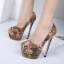 รองเท้าส้นสูงสีน้ำตาล ไซต์ 34-40 thumbnail 2