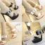 รองเท้าส้นสูงแบบสวยหรูสีดำ/ครีม ไซต์ 34-38 thumbnail 1