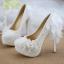 รองเท้าเจ้าสาวสีขาว ไซต์ 34-40 สูง 5.6 / 4.4 / 3.2 นิ้ว thumbnail 6