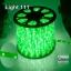 ไฟสายยาง LED (ท่อกลม) 100 m สีเขียว thumbnail 1