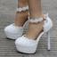 รองเท้าเจ้าสาวสีขาวมุข ไซต์ 34-41 thumbnail 1