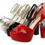 รองเท้าส้นสูง ไซต์ 34-39 สีดำ สีแดง สีขาว สีเนื้อ สีเทา สีเงิน thumbnail 14