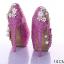 รองเท้าเจ้าสาว ไซต์ 34-39 สีม่วง สีดำ สีชมพู สีเงิน ส้นสูง 12,14 ซม. thumbnail 3