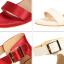 รองเท้าส้นสูง ไซต์ 34-39 แดงเข้ม/ดำ/เขียว/ชมพูเข้ม/ชมพูอ่อน/ขาว/เงิน/แดงส้ม thumbnail 12