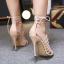 รองเท้าส้นสูงสีครีม/ดำ ไซต์ 35-40 thumbnail 5