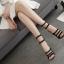 รองเท้าส้นสูงดีไซน์โบว์เล็กๆติดสายสีดำ ไซต์ 35-40 thumbnail 4