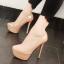 รองเท้าส้นสูงคัดชูสีนู๊ด/ดำ ไซต์ 34-38 thumbnail 3