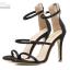 รองเท้าส้นสูงสีชมพู/ดำ ไซต์ 34-39 thumbnail 8
