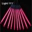 ไฟดาวตกLED 8 แท่ง 30 cm สีชมพู thumbnail 1