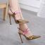 รองเท้าส้นสูง ไซต์ 35-40 สีดำ/แดง/ทอง/ครีม thumbnail 2