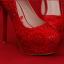 รองเท้าเจ้าสาวสีแดง ไซต์ 34-39 thumbnail 6