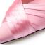 รองเท้าส้นสูงปลายแหลมผ้าซาตินสีชมพู/ดำ ไซต์ 34-39 thumbnail 8