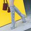 รองเท้าบูทส้นสูง ไซต์ 34-39 สีดำ/แดง/ครีม/เทา thumbnail 3