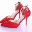 รองเท้าเจ้าสาว ไซต์ 34-39 ส้นสูง 9 ซม. thumbnail 8