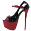รองเท้าส้นสูงส้นเข็มสีดำขแดง ไซต์ 34-40 thumbnail 4