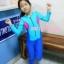 bodysuitกันยูวี สีชมพู-น้ำเงิน-ฟ้า thumbnail 5